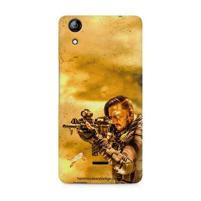 Kichha Sudeep Mobile Back Case Hebbuli 3 Micromax Canvas Selfie 2 Q340