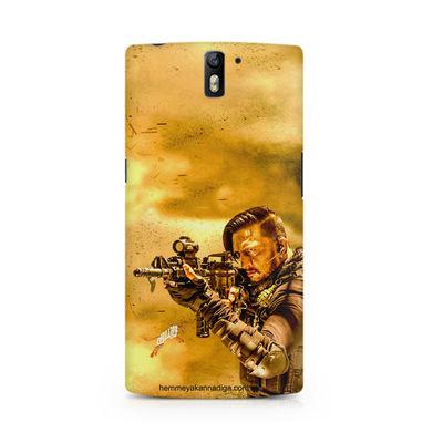 Kichha Sudeep Mobile Back Case Hebbuli 3 OnePlus One