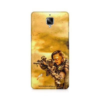 Kichha Sudeep Mobile Back Case Hebbuli 3 OnePlus Three