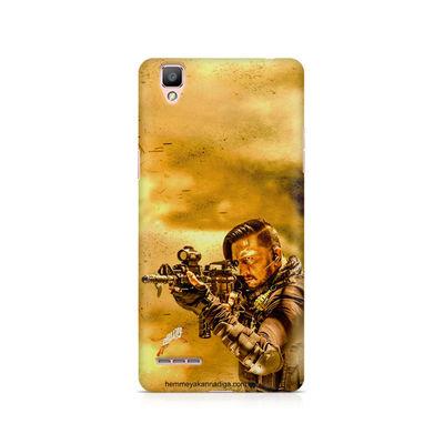 Kichha Sudeep Mobile Back Case Hebbuli 3 Oppo F1 Plus
