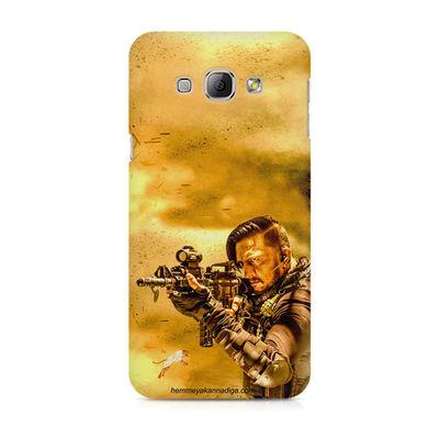 Kichha Sudeep Mobile Back Case Hebbuli 3 Samsung A3