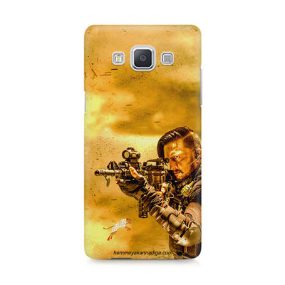 Kichha Sudeep Mobile Back Case Hebbuli 3 Samsung A5