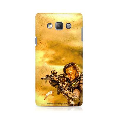 Kichha Sudeep Mobile Back Case Hebbuli 3 Samsung A7