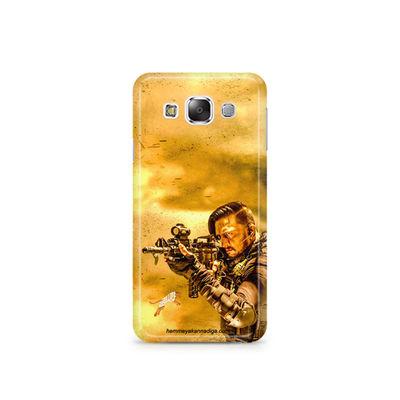 Kichha Sudeep Mobile Back Case Hebbuli 3 Samsung E5
