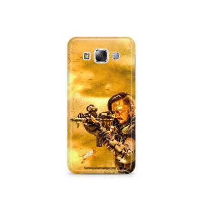 Kichha Sudeep Mobile Back Case Hebbuli 3 Samsung E7