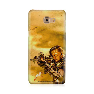 Kichha Sudeep Mobile Back Case Hebbuli 3 Samsung Galaxy C9 Pro
