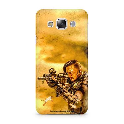 Kichha Sudeep Mobile Back Case Hebbuli 3 Samsung Grand 2 G7106