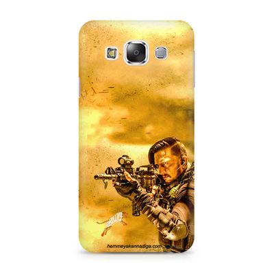 Kichha Sudeep Mobile Back Case Hebbuli 3 Samsung Grand 3 G7200