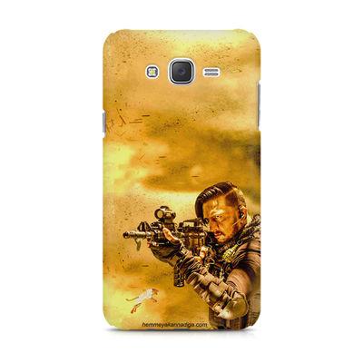 Kichha Sudeep Mobile Back Case Hebbuli 3 Samsung J5 2016 Version