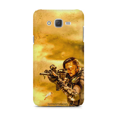 Kichha Sudeep Mobile Back Case Hebbuli 3 Samsung J7 2016 Version