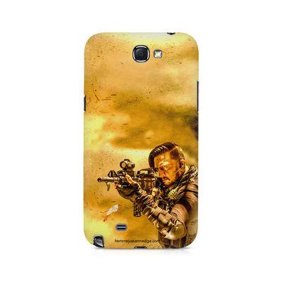 Kichha Sudeep Mobile Back Case Hebbuli 3 Samsung Note 2