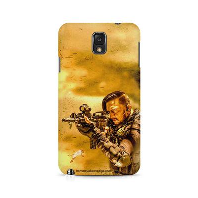 Kichha Sudeep Mobile Back Case Hebbuli 3 Samsung Note 3