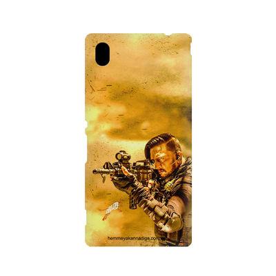 Kichha Sudeep Mobile Back Case Hebbuli 3 Sony Xperia M4