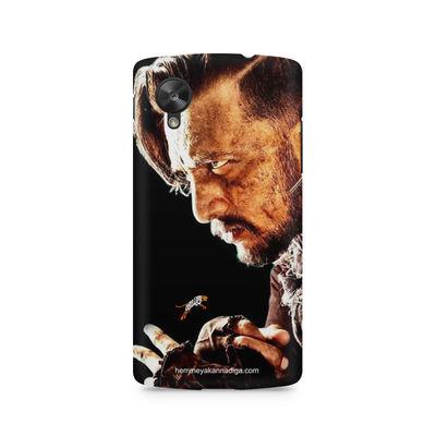 Kichha Sudeep Mobile Back Case Hebbuli 4 LG Nexus 5