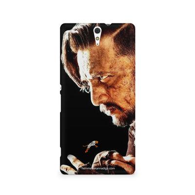 Kichha Sudeep Mobile Back Case Hebbuli 4 Sony Xperia C5