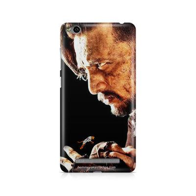 Kichha Sudeep Mobile Back Case Hebbuli 4 Xiaomi Redmi 3s