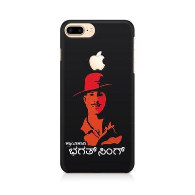 Kranti Kaari Bhagath Singh Premium Printed Case For Apple iPhone   7 Plus With Logo Cut