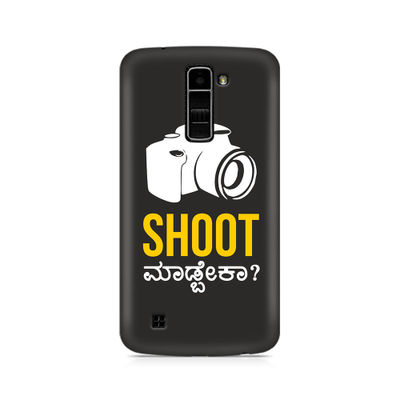 Shoot Madbeka Premium Printed Case For LG K10