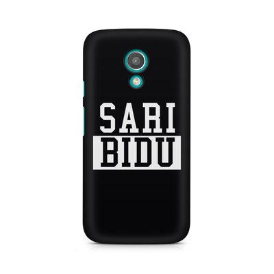 Sari Bidu Premium Printed Case For Moto G2