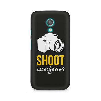 Shoot Madbeka Premium Printed Case For Moto G2