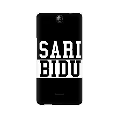 Sari Bidu Premium Printed Case For Micromax Canvas Juice 3