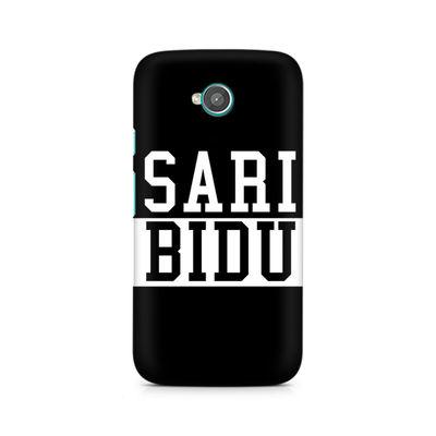 Sari Bidu Premium Printed Case For Moto E