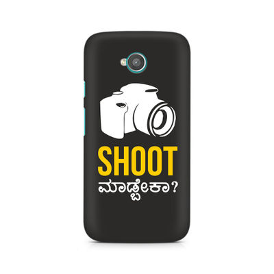 Shoot Madbeka Premium Printed Case For Moto E