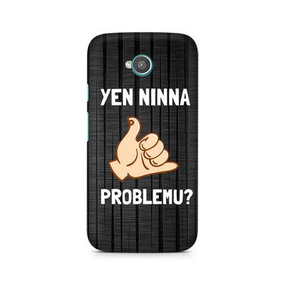 Yen Ninna Problemu? Premium Printed Case For Moto E