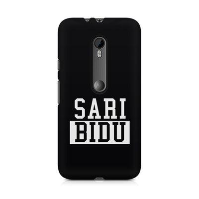 Sari Bidu Premium Printed Case For Moto G3