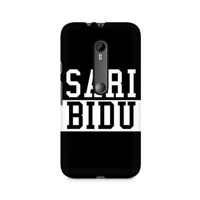 Sari Bidu Premium Printed Case For Moto X Force