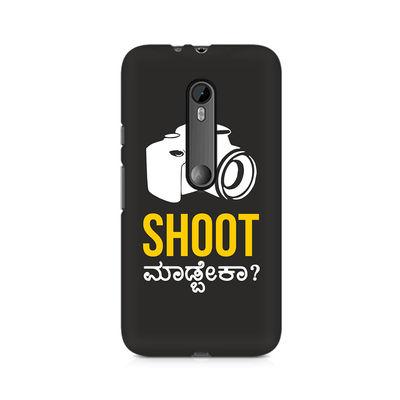 Shoot Madbeka Premium Printed Case For Moto X Force