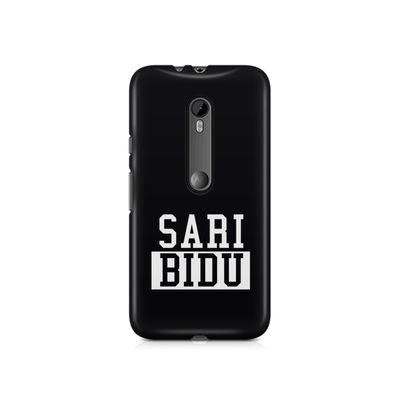 Sari Bidu Premium Printed Case For Moto X Style