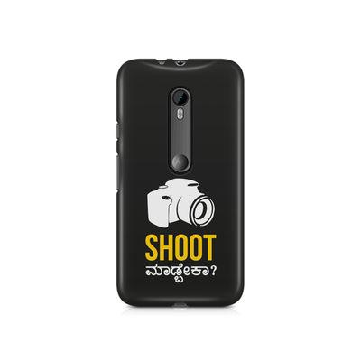 Shoot Madbeka Premium Printed Case For Moto X Style