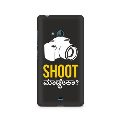 Shoot Madbeka Premium Printed Case For Nokia Lumia 540