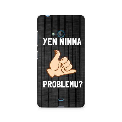 Yen Ninna Problemu? Premium Printed Case For Nokia Lumia 540