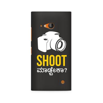 Shoot Madbeka Premium Printed Case For Nokia Lumia 730