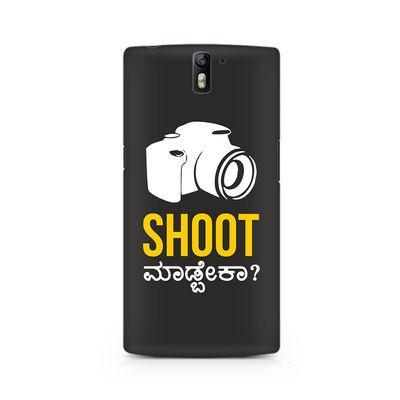 Shoot Madbeka Premium Printed Case For OnePlus One