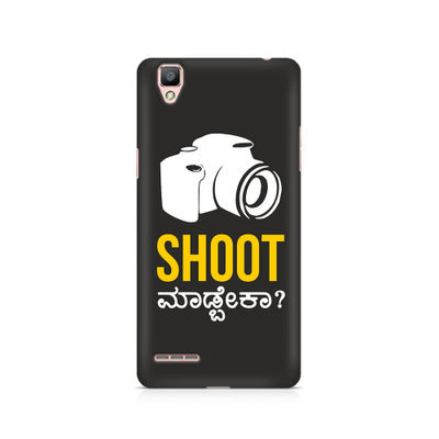 Shoot Madbeka Premium Printed Case For Oppo F1