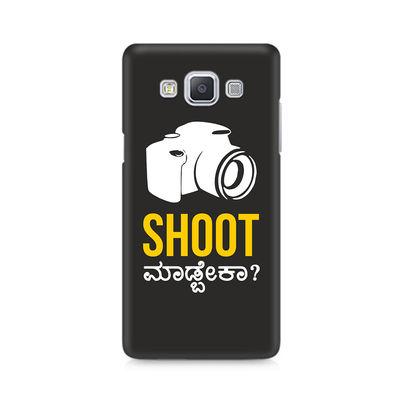 Shoot Madbeka Premium Printed Case For Samsung A5