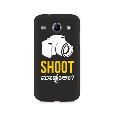 Shoot Madbeka Premium Printed Case For Samsung Core I8262