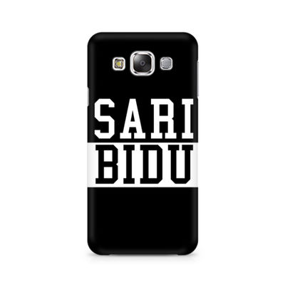 Sari Bidu Premium Printed Case For Samsung E5