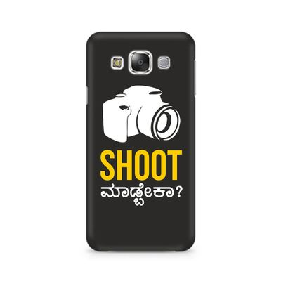 Shoot Madbeka Premium Printed Case For Samsung E5