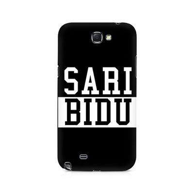 Sari Bidu Premium Printed Case For Samsung Note 2