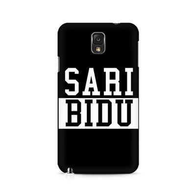 Sari Bidu Premium Printed Case For Samsung Note 3