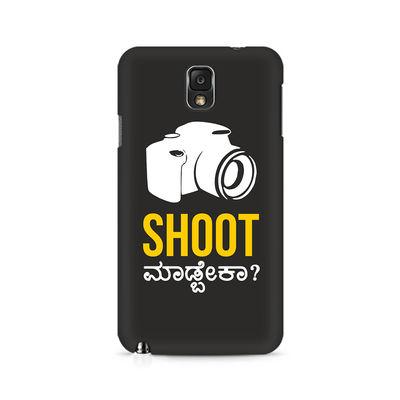 Shoot Madbeka Premium Printed Case For Samsung Note 3