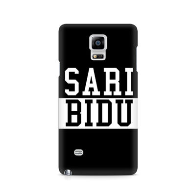 Sari Bidu Premium Printed Case For Samsung Note 4