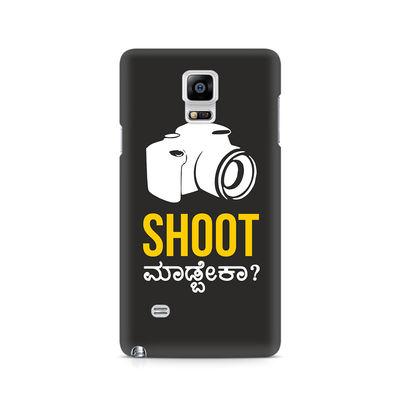 Shoot Madbeka Premium Printed Case For Samsung Note 4