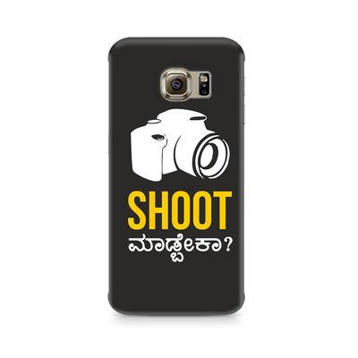 Shoot Madbeka Premium Printed Case For Samsung S6 Edge