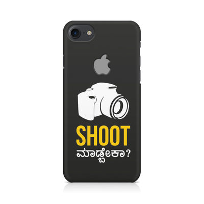 Shoot Madbeka Premium Printed Case For Apple iPhone  7 With Logo Cut