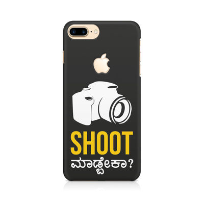 Shoot Madbeka Premium Printed Case For Apple iPhone   7 Plus With Logo Cut